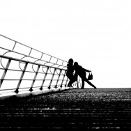 black&white stairs