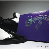 """store poster for Spoons Footwear: """"The Swagg Surfer"""""""